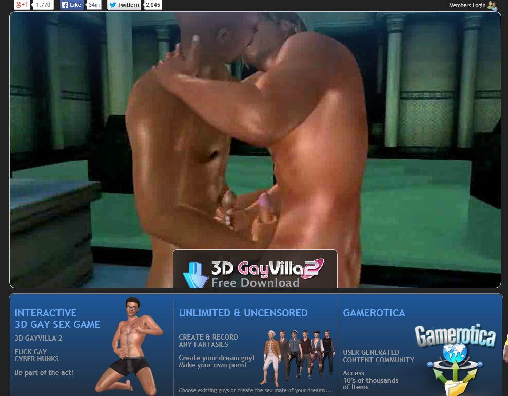 3d gayvilla sexgame